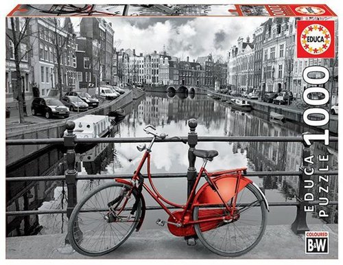 Educa Puzzle Amsterdam The Netherlands 1000 Parça 14846