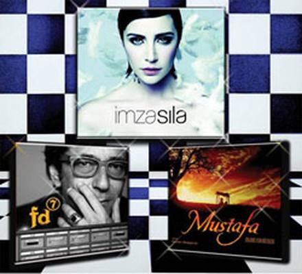3 Albüm 1 Arada - 2 ( Sıla, Feridun Düzağaç, Ost - Mustafa ) 3 CD BOX SET