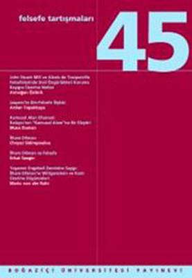 Felsefe Tartışmaları 45