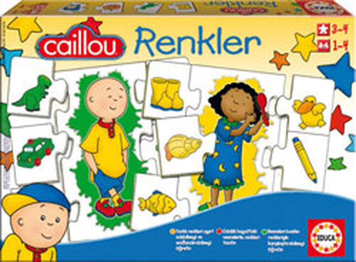 Educa Puzzle Caillou Renkler 15035