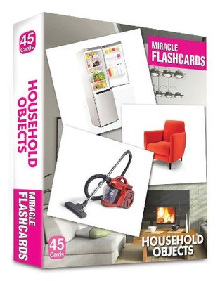 Miracle Flashcards Household Objects 2