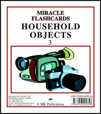 Miracle Flashcards Household Objects 3