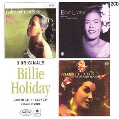 Lady In Satin, Lady Day, Velvet Mood (3 Albums)