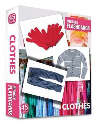 Miracle Flashcards - Clothes