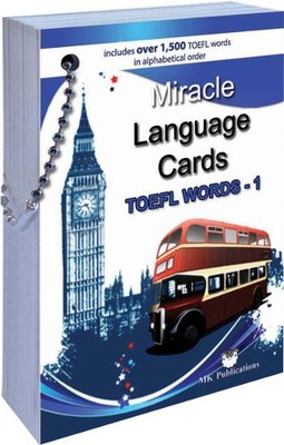 Miracle Language Cards TOEFL Words 1