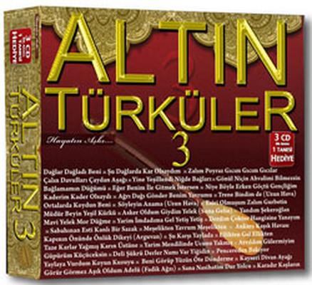 Altın Türküler 3 3 CD BOX SET