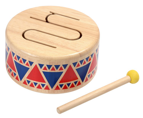 Plan Toys Ahsap Davul (Solid Drum) 6404