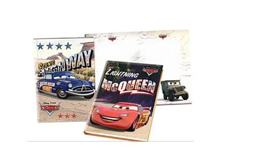 Cars Lüks Hatıra Defteri Kilitli 14x20 cm. 208 Sayfa 310210-33
