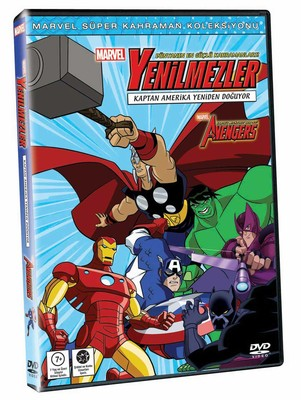 Marvel The Avengers: Earth's Mightiest Heroes! Vol 2 - Marvel Yenilmezler: Kaptan Amerika Yeniden Do