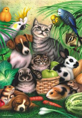 Büyülü Hayvanlar / Magic Pets 3286 260 Parça Puzzle