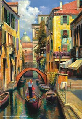 Venedikte Pazar / Sunday In Venice 3543 500 Parça Puzzle