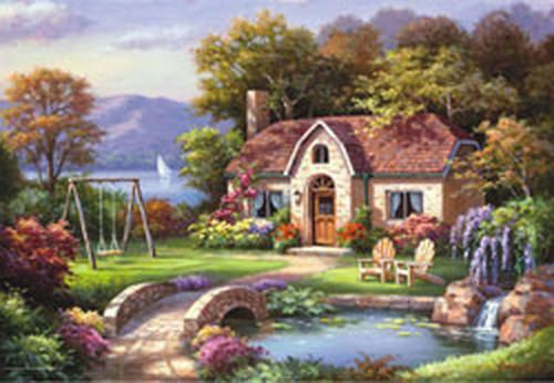 Tasköprü Konagi / Stone Bridge Cottage 3914 2000 Parça Puzzle