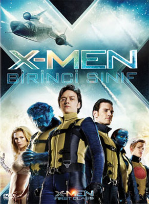 X-Men First Class - X-Men Birinci Sınıf