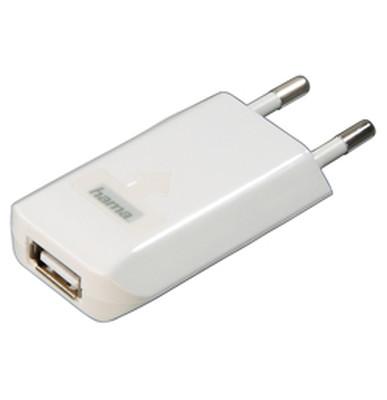 Hama 14123 USB Şarj Cihazı iPhone/iPod Beyaz