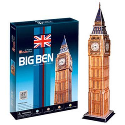 Cubic Fun Big Ben İngiltere 47 Parça 3D Puzzle
