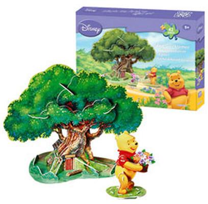 Neco W.Pooh Agaç Evi 3D Puzzle Ds0901H