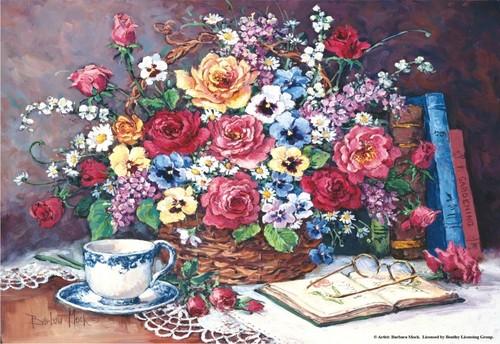 Anatolian Hayal Çiçekleri / Garden Reverie 3916 2000 Parça
