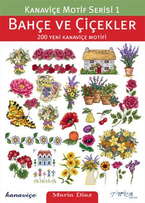Kanaviçe Motif Serisi 1 - Bahçe ve Çiçekler