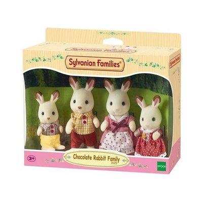 Sylvanian Families C Rabbit Family Set 3125