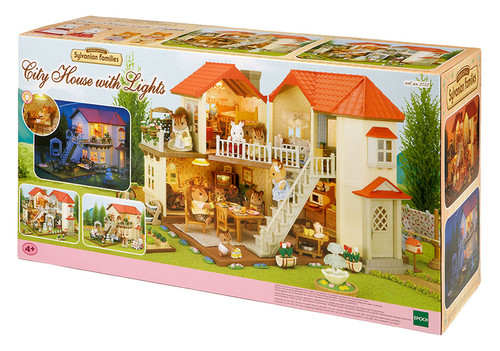 Sylvanian Families City House W Lights Set 2752