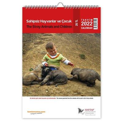 Haytap 2021 Sokak Hayvanları Duvar Takvimi