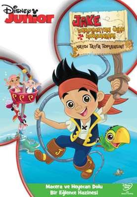 Jake And The Neverland Pirates: Vol 1 - Jake : Varolmayan Ülke Korsanları Bölüm 1