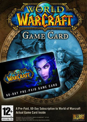World of Warcraft: Prepaid Card PC