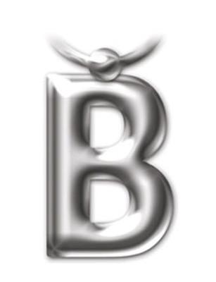 İF 2202 Letter Keyring/Anahtarlık - B