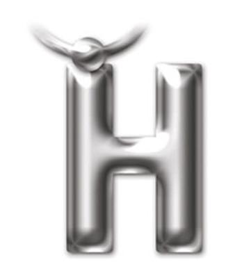 İF 2208 Letter Keyring/Anahtarlık - H
