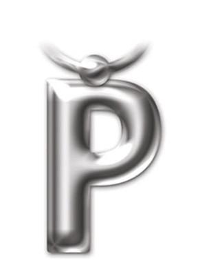 İF 2216 Letter Keyring/Anahtarlık - P