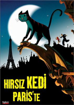 A Cat  In Paris - Hirsiz Kedi Paris'te