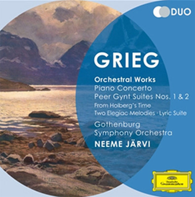 Grieg: Orchestral Works: Piano Concerto Peer Gynt Suites [2 Cd]