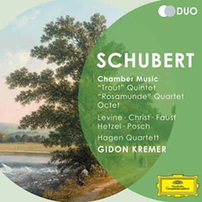 Schubert: Chamber Music Trout, Rosamunde [2 Cd]