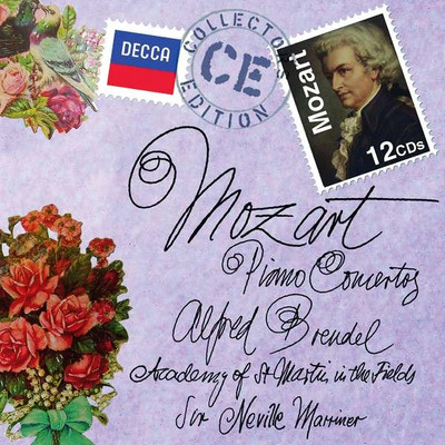 Mozart: The Piano Concertos [12 Cd] [Academy Of Wt. Martin In The Fields - Neville Marriner]