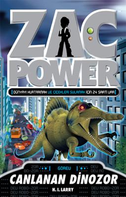 Zac Power 24 - Canlanan Dinozor