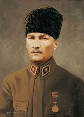 Art Puzzle Baskomutan Maresal Gazi Mustafa Kemal 500 Parça 4158