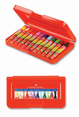 Faber-Castell Altigen Pastel Plastik Kutu,12 Renk - 5281125112