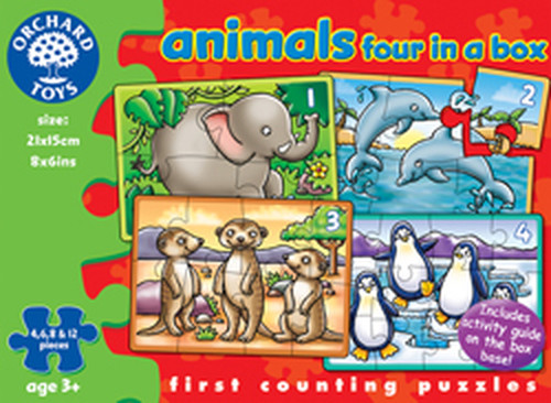 Orchard Animals 4 in A Box 220