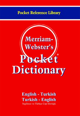 M. Webster's Pocket Dictionary Eng-Turc Turc- Eng