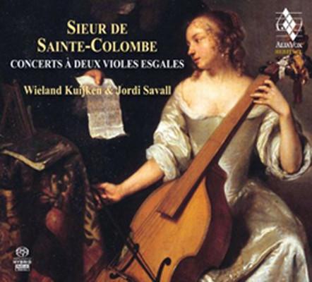 Sainte-Colombe: Concerts a deux violes