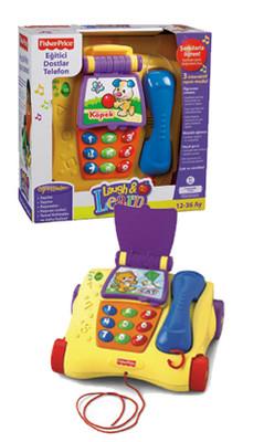 Fisher Price L&L Egitici Dostlar Telefon (Türkçe) - P9698