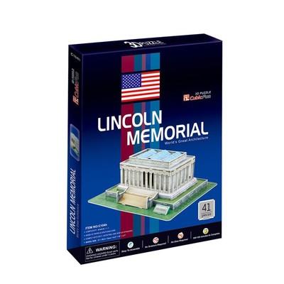Neco Lincoln Aniti - Usa 3D Puzzle - C104H