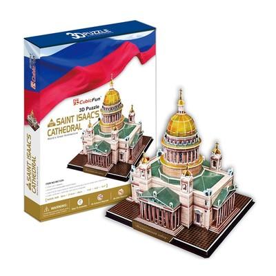 Saint isaac'S Katedrali - Rusya 3D Puzzle - Mc122H