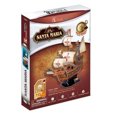 Neco Santa Maria Gemisi 3D Puzzle - T4008H