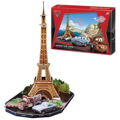 Neco Cars Paris'De 3D Puzzle - Ds0928H