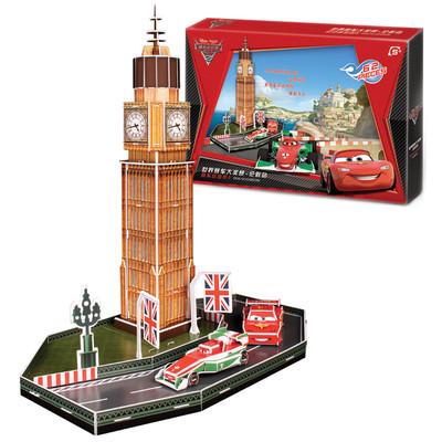 Neco Cars Londra'da 3D Puzzle - Ds0929H