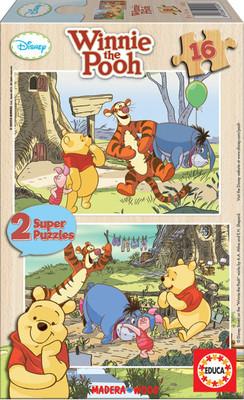 Educa Winnie The Pooh Egitici Puzzle 2X16 Ebat Puzzle 14956
