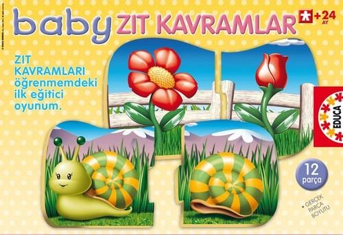 Educa Baby Zit Kavramlar Egitici Puzzle 15230