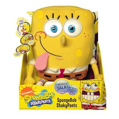 Sponge Bob 3 Fonk. Elektronik Figür - Jk/34020