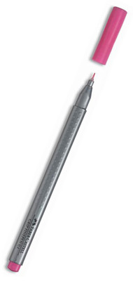 Faber-Castell Grip Finepen 0.4Mm, Pembe   - 5020151619